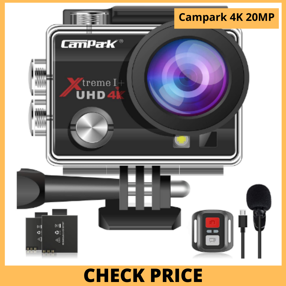 Campark 4K 20MP Action Camera