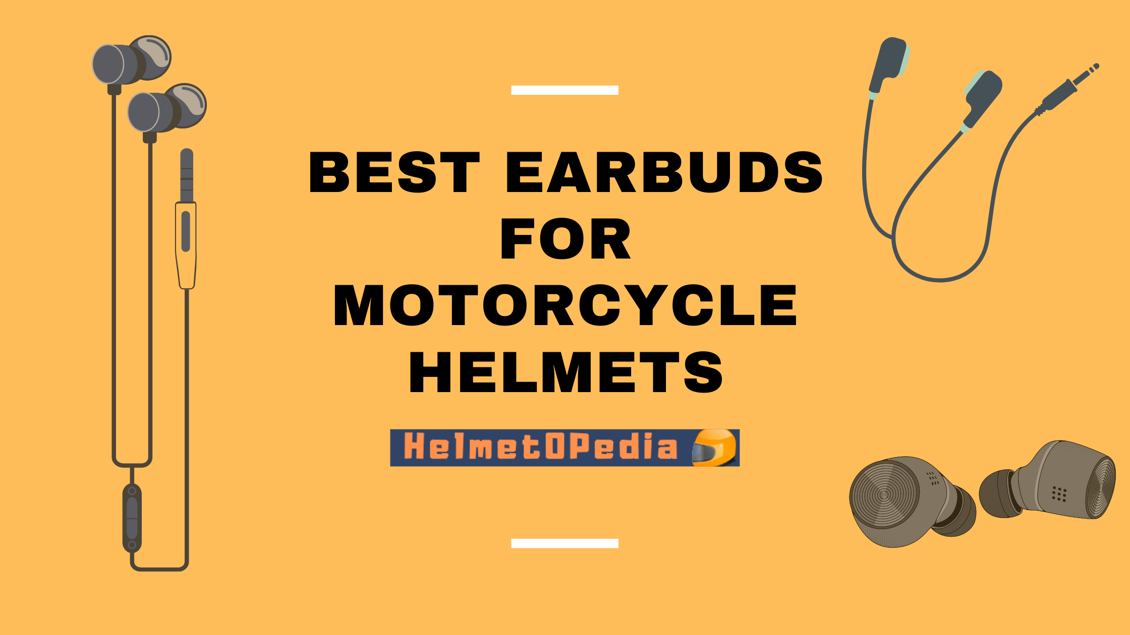 Best Earbuds and Headphones for Motorcycle Helmets