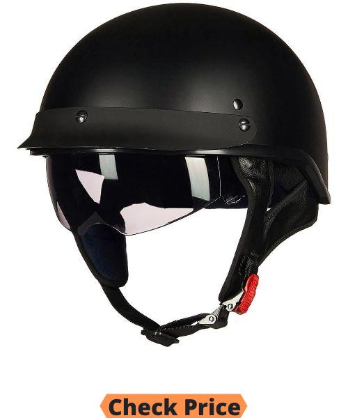 ILM Open Face Half Helmet