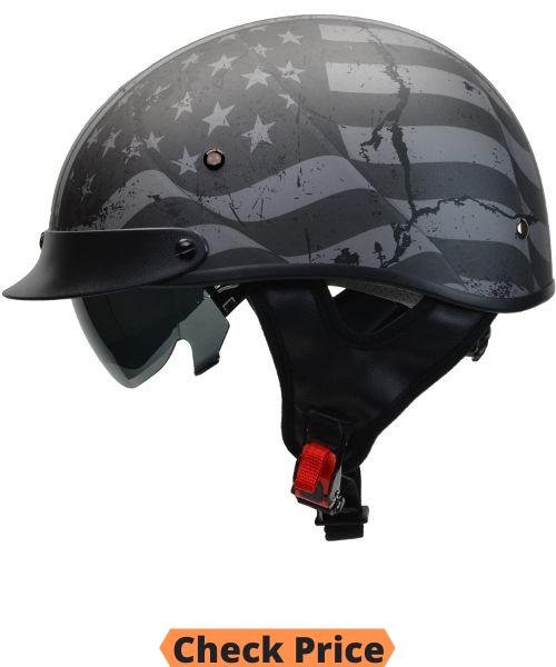 Vega Motorcycle Half Helmet