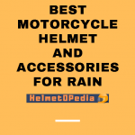 Best Motorcycle Helmets and Accessories for Rain