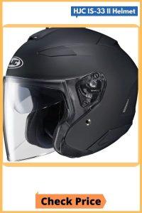 HJC IS-33 II Open Face Motorcycle Open Face Helmet_