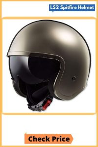LS2 Spitfire Open Face Helmet